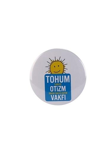 Tohum Otizm Vakfı Rozet Renksiz